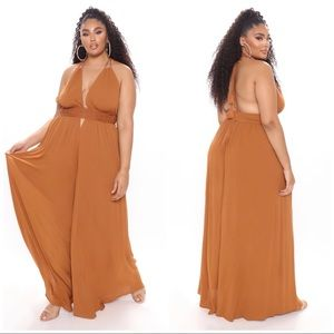 Call Me Later Wide Leg Jumpsuit